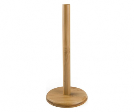 Suport rola hartie, bambus1