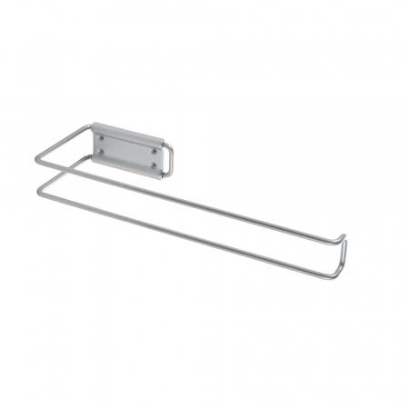 Suport rola sau prosop de hartie pentru bucatarie Multi Roll, gri [3]