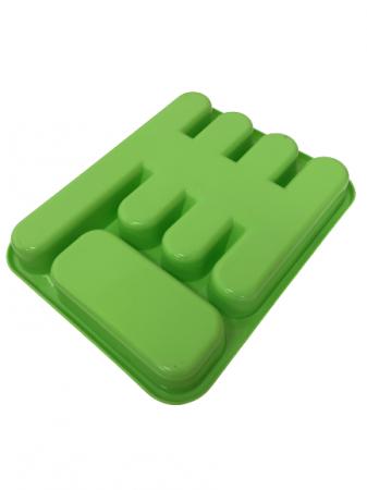 Suport tacamuri pentru sertar, verde1