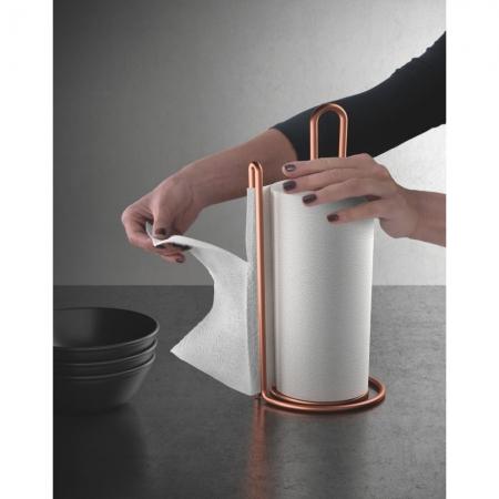 Suport rola sau prosop hartie pentru bucatarie My Roll Copper, vertical, cupru [2]