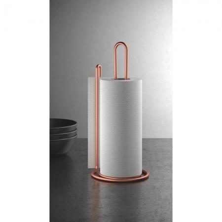 Suport rola sau prosop hartie pentru bucatarie My Roll Copper, vertical, cupru [0]