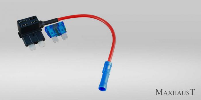 Adaptor dublu circuit siguranta auto tip ATO XSA100 [0]