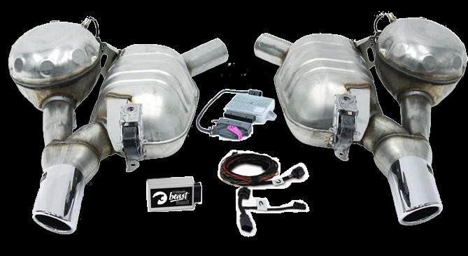 Set Maxhaust - Esapament Active Sound Audi A6/A7 4G - ESM Maxhaust 1