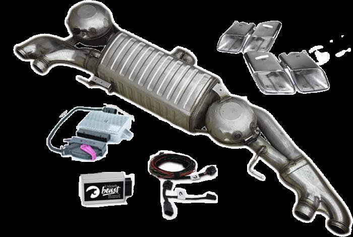 Set Maxhaust - Esapament Evacuare electronica Active Sound Audi Q7/SQ7 4M - ESM Maxhaust [0]