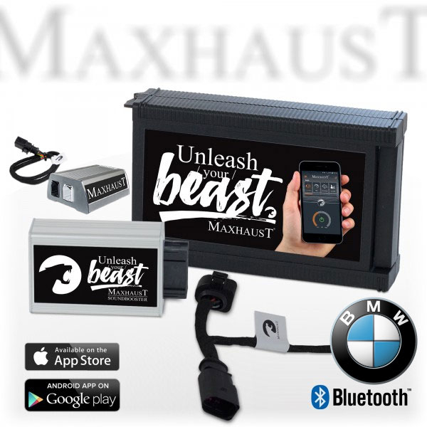 BMW Seria 8/X5/X6/X7 - Update Evacuare electronica Maxhaust Active Sound Booster [0]