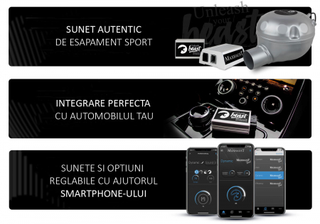 Sistem Maxhaust Active Sound Booster – Set complet universal3