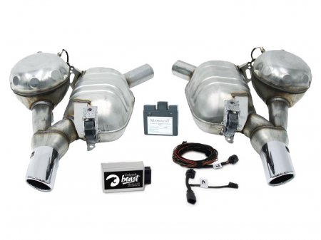 Set Maxhaust - Esapament Active Sound Audi A6/A7 4G - ESM Audi1