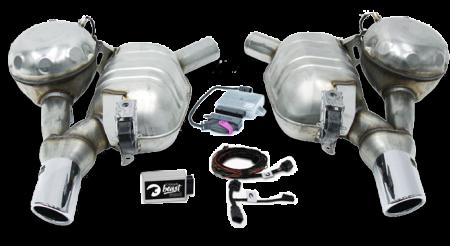 Set Maxhaust - Esapament Active Sound Audi A6/A7 4G - ESM Maxhaust1