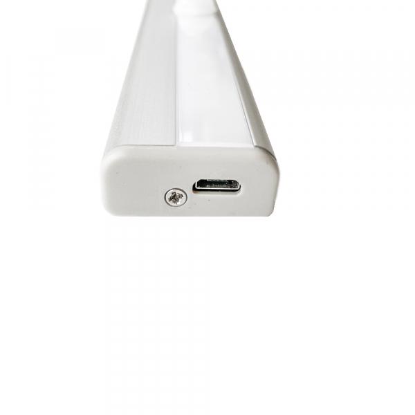 Corp de iluminat LED cu senzor de miscare, reincarcabil, lumina rece 5
