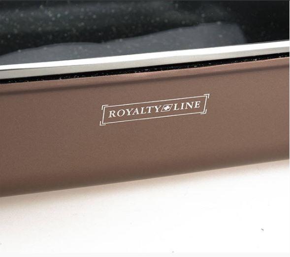 Tava roaster marmorata 34 cm Royalty Line RL-ARG34ML Maro [3]