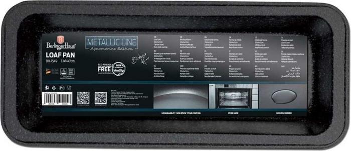 Tava chec marmorata Aquamarine Metalic Line Berlinger Haus BH 1549 [1]