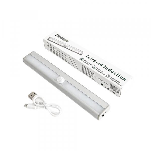 Corp de iluminat LED cu senzor de miscare, reincarcabil, lumina rece 2