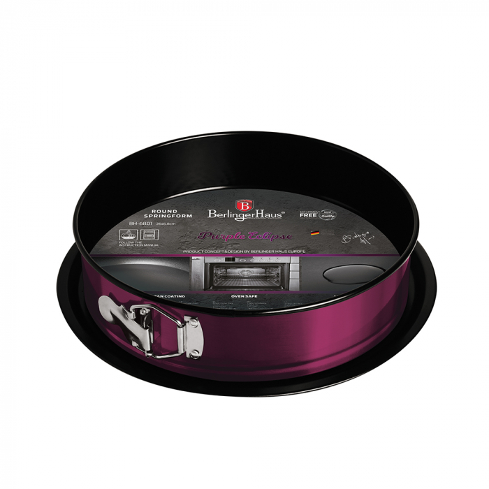 Tava marmorata rotunda Purple Royal Berlinger Haus BH 6801 0
