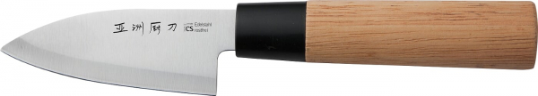 Cutit Osaka Deba, Carl Schmidt Sohn, 10 cm, lama otel, maner lemn 071066 0