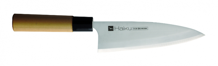 H-04 Deba, cutit traditional japonez de filetare, 16,5 cm [0]