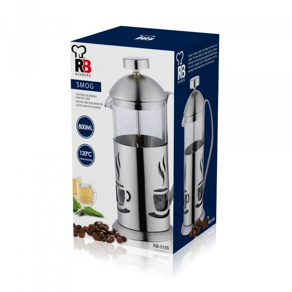 Infuzor ceai si cafea 800 ML Renberg RB 3105 1