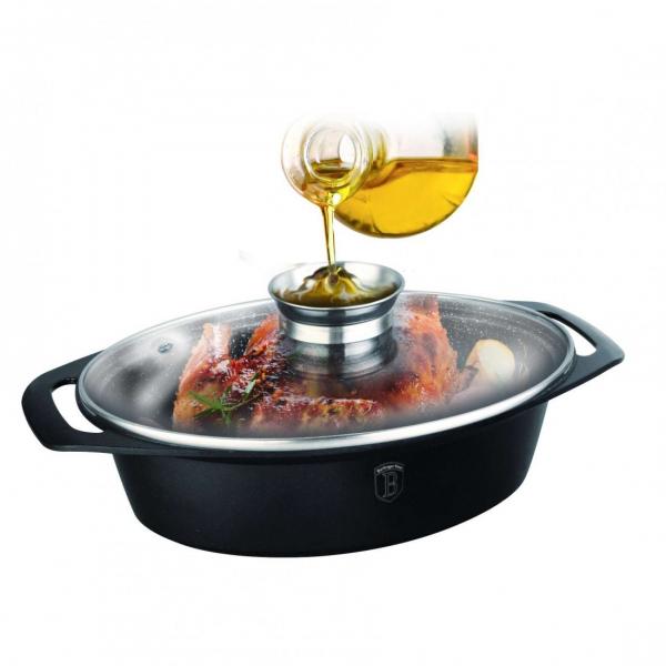 Oala cuptor cu capac, roaster Berlinger Haus BH 1460 [1]