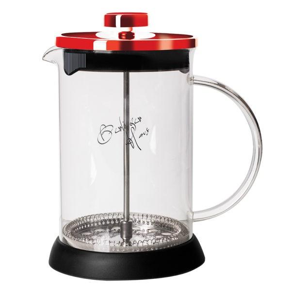 Presa Cafea & Ceai, 600 ml, Burgundy, Berlinger Haus BH 1497 0