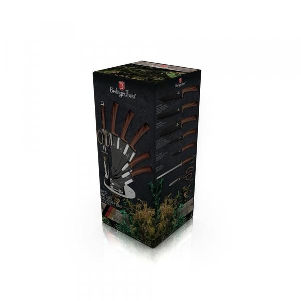 Set cutite otel inoxidabil (8 piese) Forest Line Berlinger Haus BH 2285 1