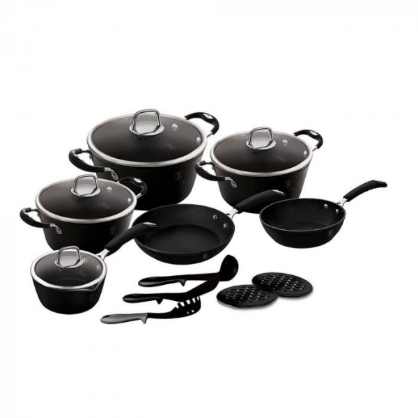 Set Oale 15 Piese Black Professional Berlinger Haus BH 6129 1
