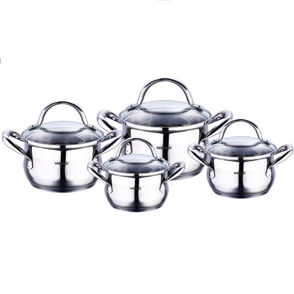 Set oale inox 8 piese Bergner Gourmet BG 6523 0