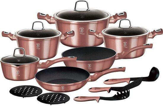 Set oale marmorate 15 piese I-Rose Berlinger Haus BH 6045 [0]