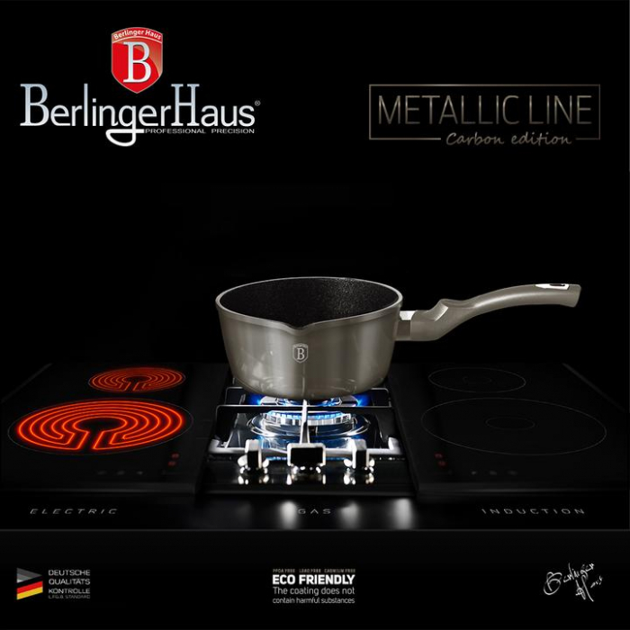 Oala pentru sos 16 cm, Carbon Metalic Line Berlinger Haus BH 1233N 5
