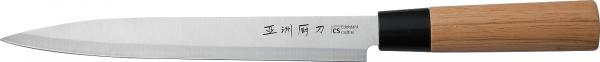 Cutit Osaka Yanagiba, Carl Schmidt Sohn, 22.5 cm, lama otel, manere lemn 070823 0