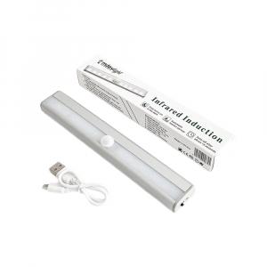 Corp de iluminat LED cu senzor de miscare, reincarcabil, lumina rece2