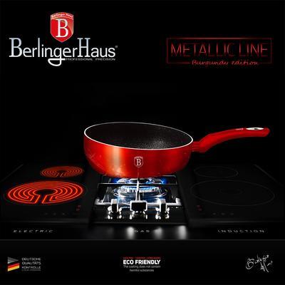 Tigaie pentru paste 26 cm Burgundy Metalic Line Berlinger Haus BH 1302N [3]