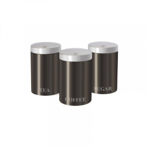 Set 3 recipiente pentru bucatarie Carbon Metalic Line Berlinger Haus BH 1348 [0]