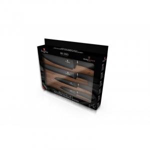 Set cutite cu tocator, 5 piese Black Rose Berlinger Haus BH 2503 [1]