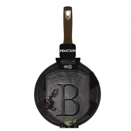 Tigaie clatite marmorata 25 cm Shiny Black Berlinger Haus BH 6613 [1]