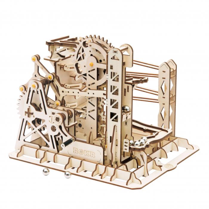 Marble Explorer - Puzzle mecanic 3D din lemn [5]
