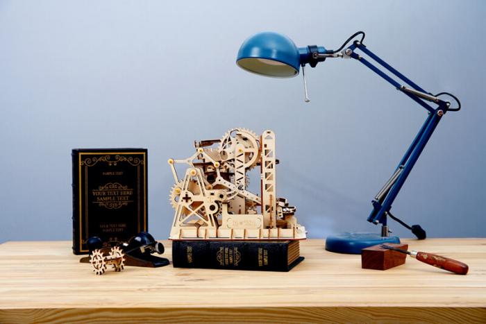 Marble Climber - Puzzle mecanic 3D din lemn 1