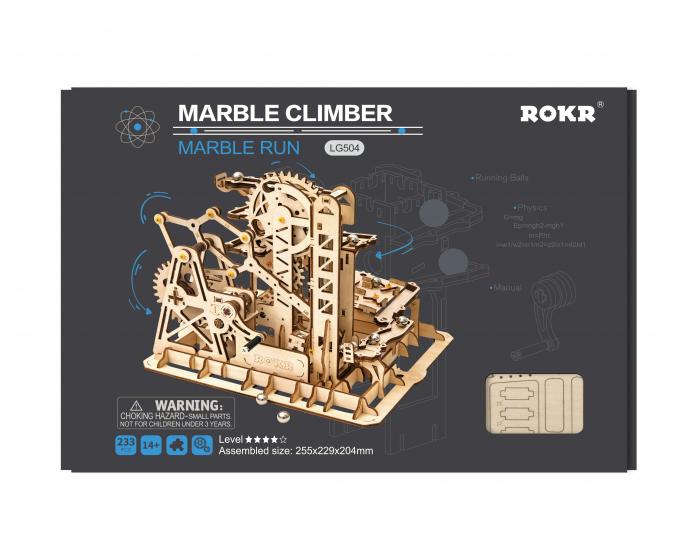 Marble Climber - Puzzle mecanic 3D din lemn 4