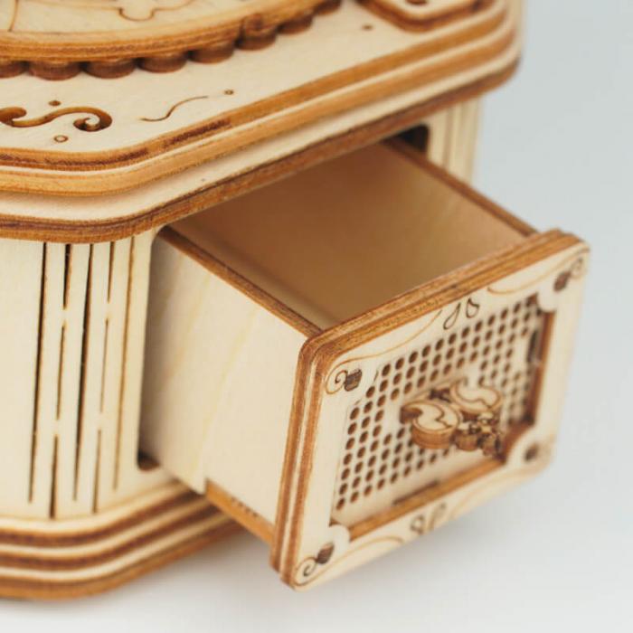 Gramofon - MechFun Puzzle 3D din lemn 9
