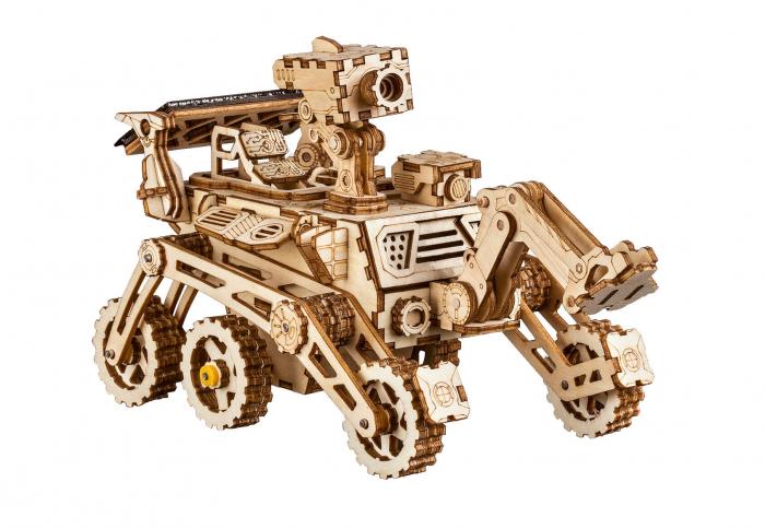 Harbinger Rover - MechFun Puzzle mecanic 3D din lemn 0