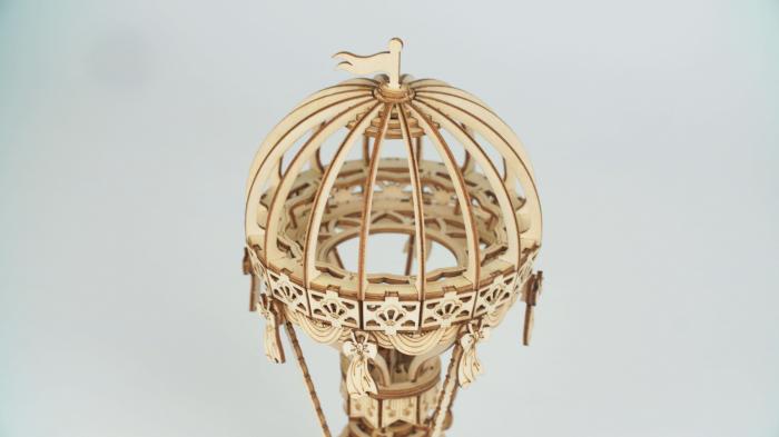 Balon cu aer cald - MechFun Puzzle 3D lemn 4