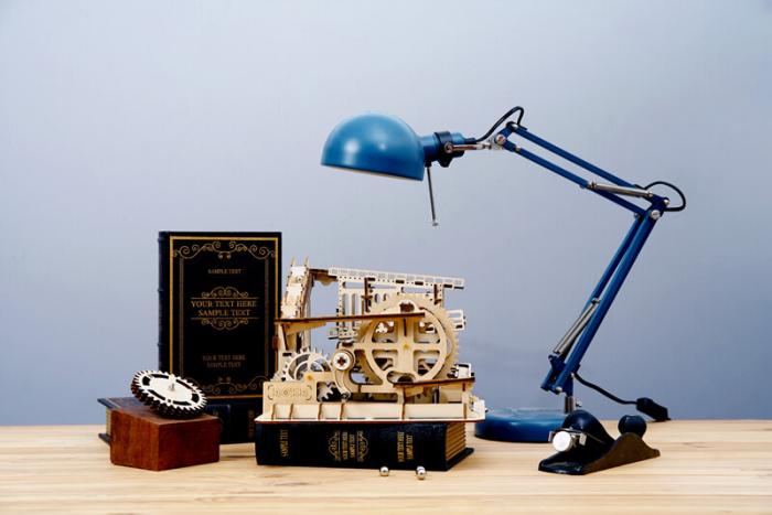 Marble Squad - Puzzle mecanic 3D din lemn 1