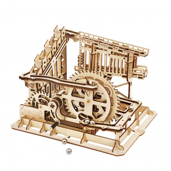 Marble Squad - Puzzle mecanic 3D din lemn 0