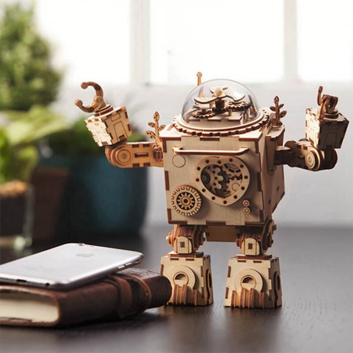 Robot muzical Orpheus - MechFun Puzzle Mecanic 3D 7