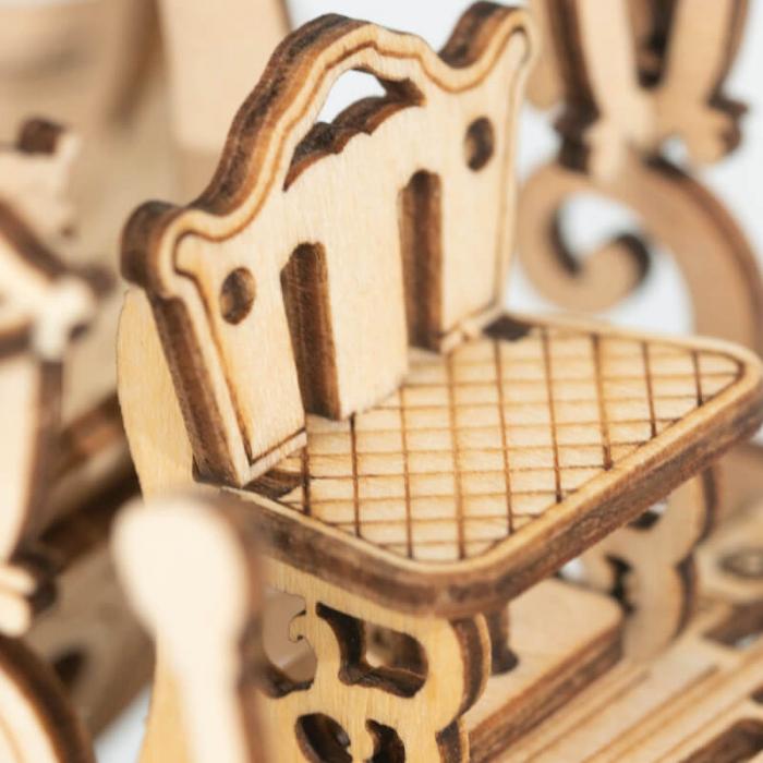 Caleaşca Cenuşăresei - Puzzle 3D din lemn 5