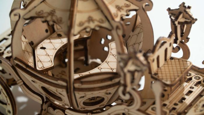 Caleaşca Cenuşăresei - Puzzle 3D din lemn 1