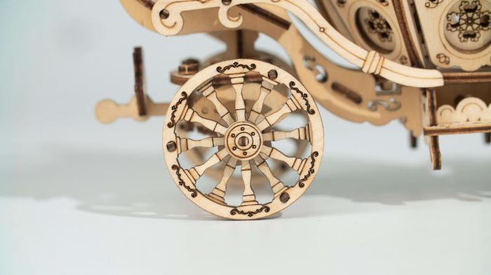 Caleaşca Cenuşăresei - Puzzle 3D din lemn 2