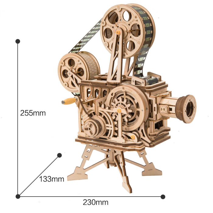 Vitascope puzzle mecanic 3D din lemn 3