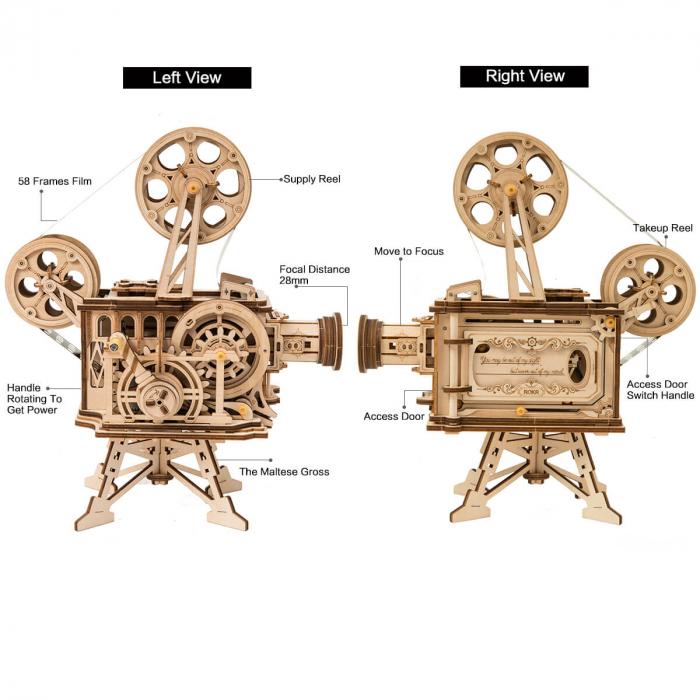 Vitascope puzzle mecanic 3D din lemn 2