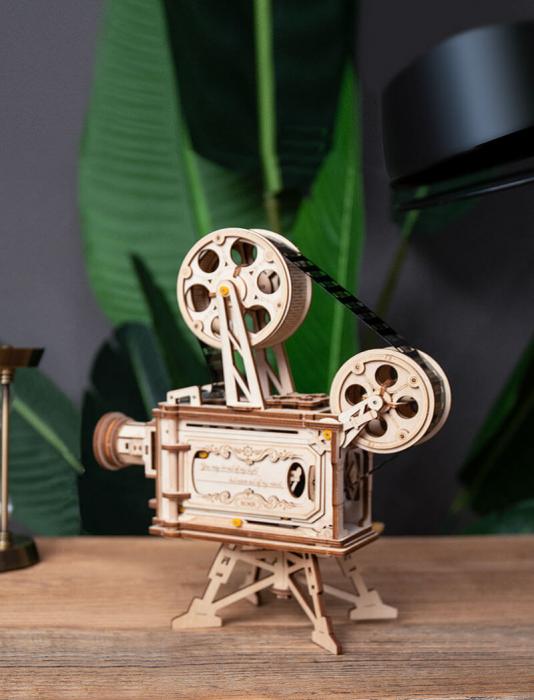 Vitascope puzzle mecanic 3D din lemn 4