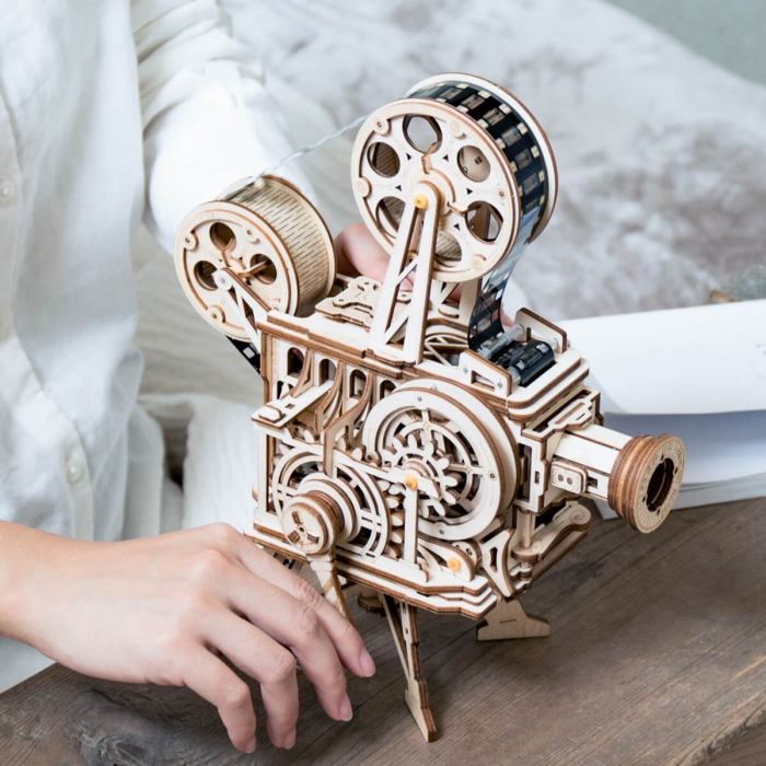 Vitascope puzzle mecanic 3D din lemn 0
