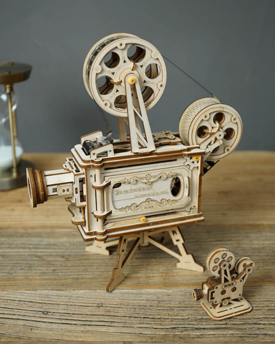 Vitascope puzzle mecanic 3D din lemn 6